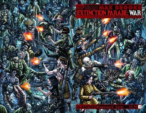 The Extinction Parade: War #4 (Wrap Cover)