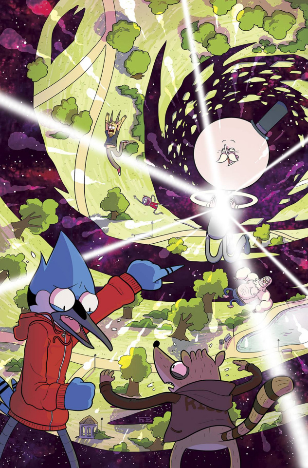 Regular Show #28 (Subscription Sygh Cover)