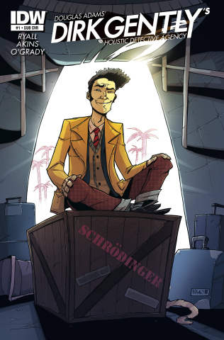 Dirk Gently's Holistic Detective Agency #1 (Subscription Cover)