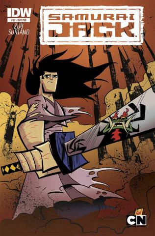 Samurai Jack #20 (Subscription Cover)