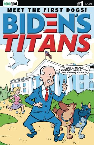 Biden's Titans #1 (Ted Dawson Cover)