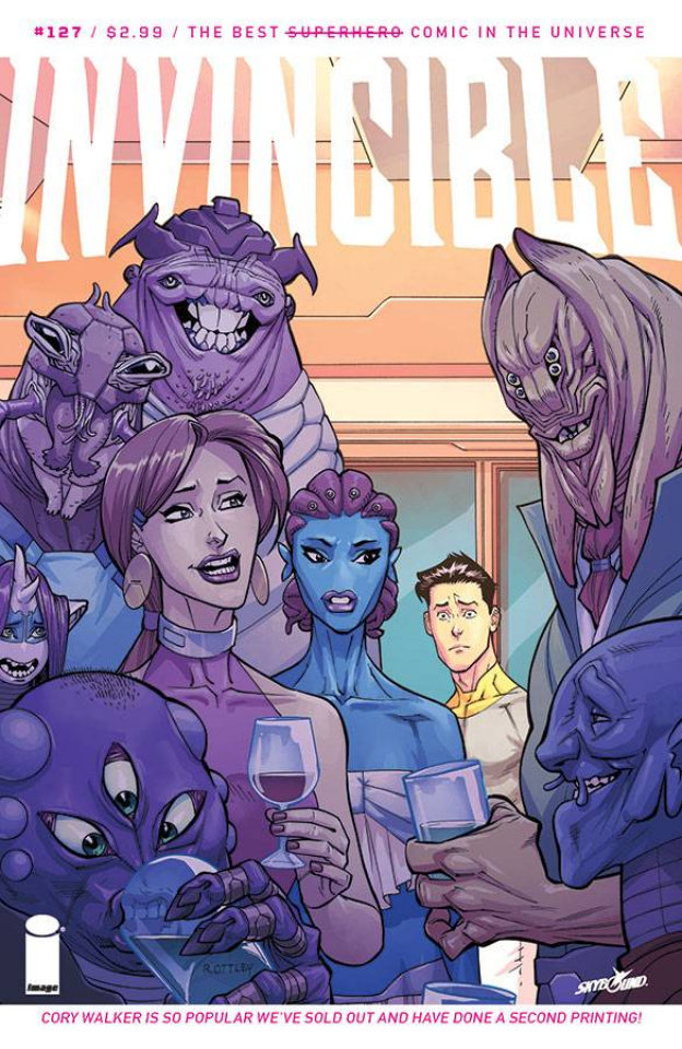 Invincible #127 (2nd Printing)