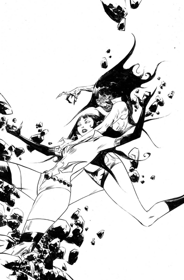 Vampirella: The Dark Powers #3 (50 Copy Lee B&W Virgin Cover)