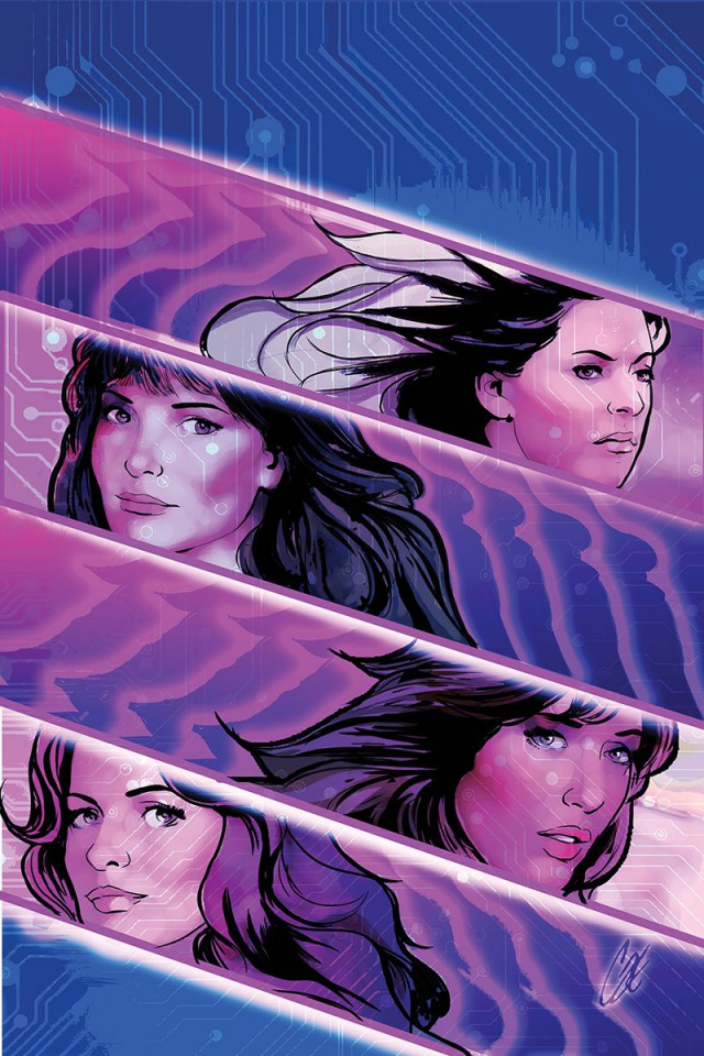 Charlie's Angels vs. The Bionic Woman #3 (20 Copy Staggs Virgin Cover)