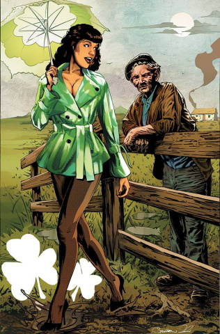 Bettie Page and The Curse of the Banshee #2 (Mooney Virgin Cover)