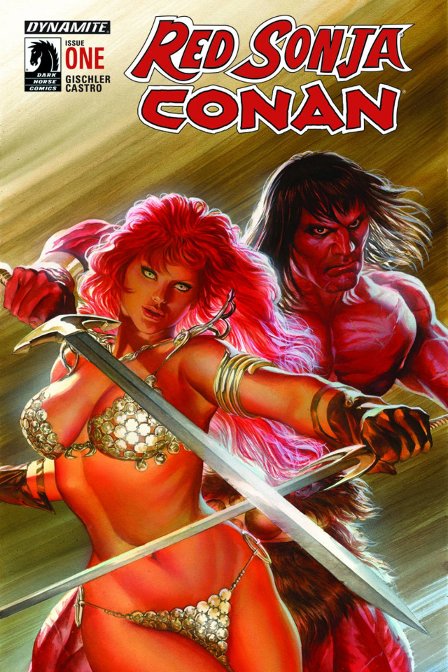 Red Sonja / Conan #1 (Ross Cover)
