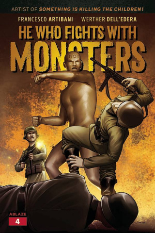 He Who Fights With Monsters #4 (Julius Ohta Cover)