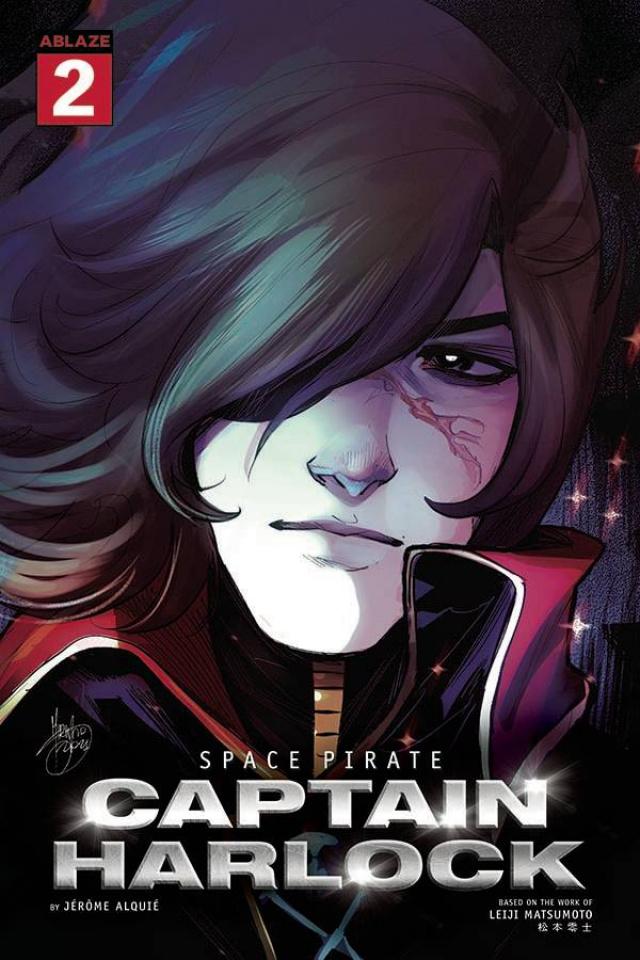 Space Pirate: Captain Harlock #2 (Mirka Andolfo Cover)