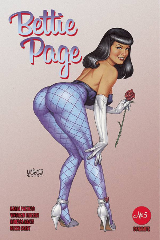 Bettie Page #5 (Linsner Cover)