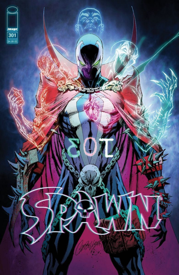 Spawn #301 (Campbell Cover)