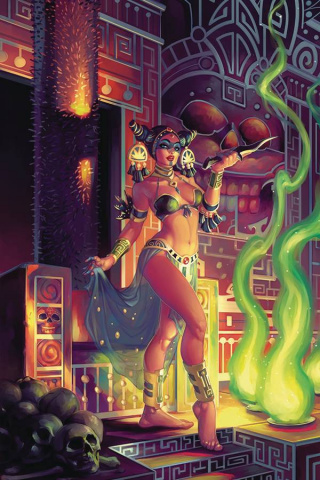 The Cimmerian: Red Nails #2 (Hetrick Cover)