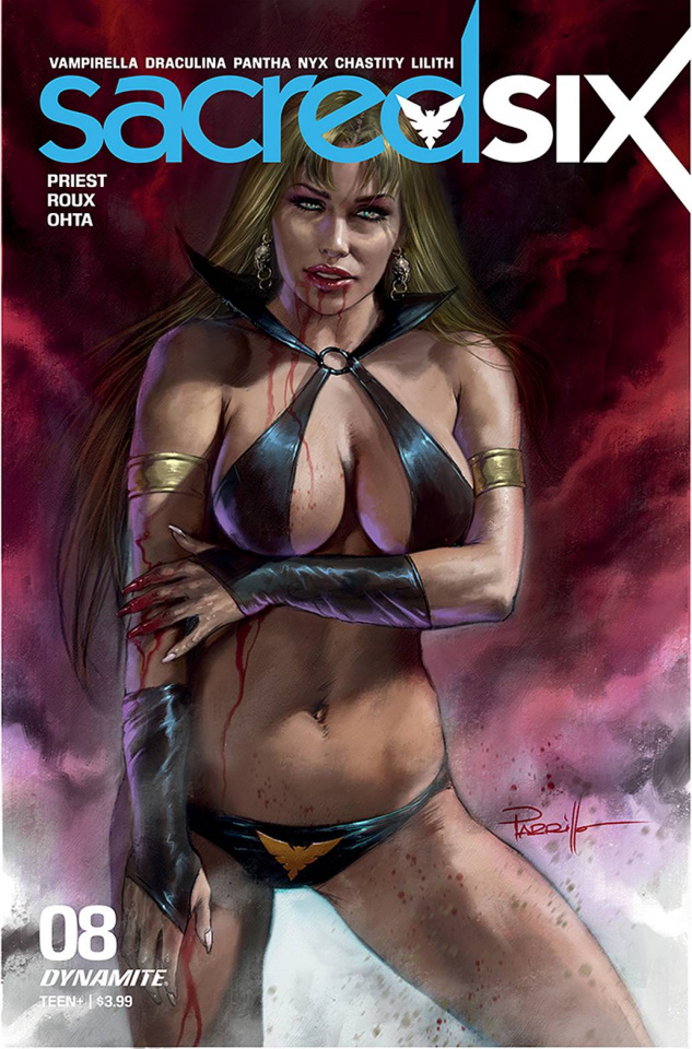 Sacred Six #8 (Parrillo Cover)