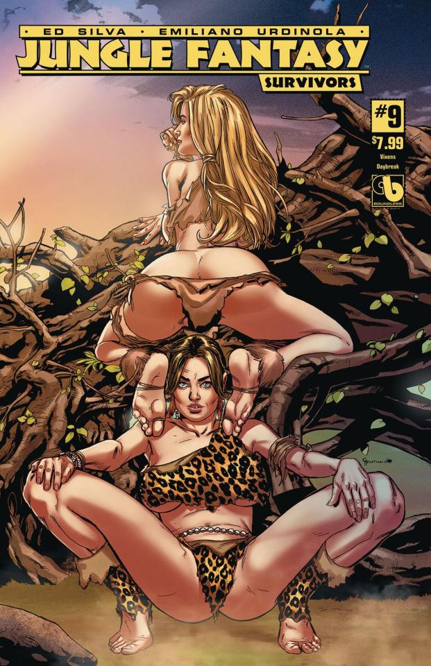 Jungle Fantasy: Survivors #9 (Vixens Daybreak Cover)