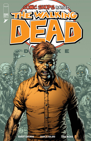 The Walking Dead Deluxe #24 (Comic Shops Cover)