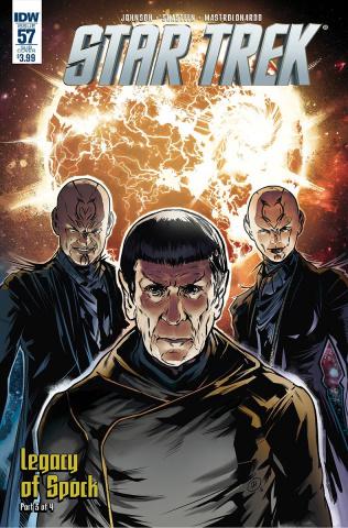 Star Trek #57 (Subscription Cover)