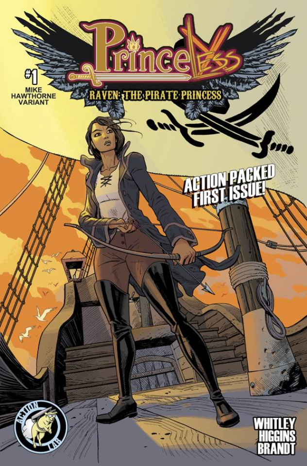 Princeless: Raven, The Pirate Princess #1 (Hawthorne Cover)