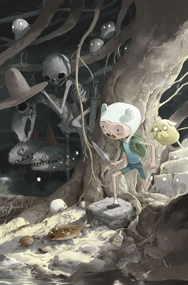Adventure Time Comics #4 (15 Copy Sandoval Cover)