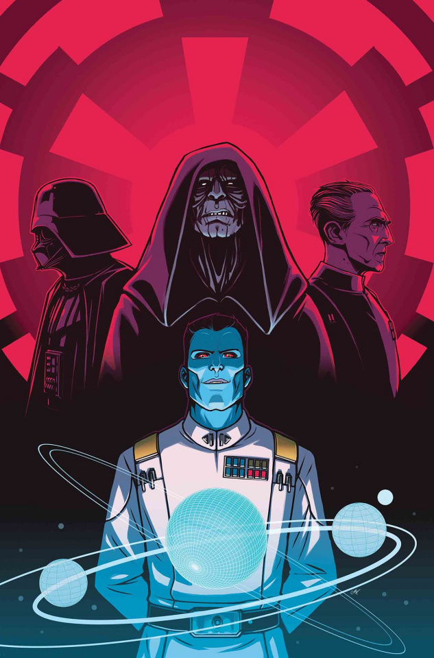 Star Wars: Thrawn #4 (Wijingaard Cover)