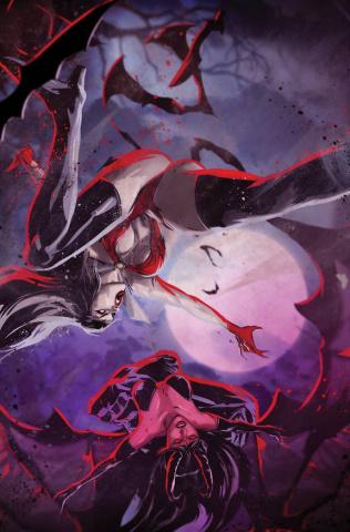 Vampirella vs. Purgatori #4 (7 Copy Kudranski Virgin Cover)