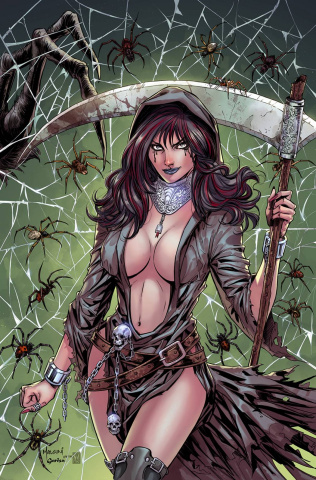 Grimm Fairy Tales: Grimm Tales of Terror #2 (Malsuni Cover)