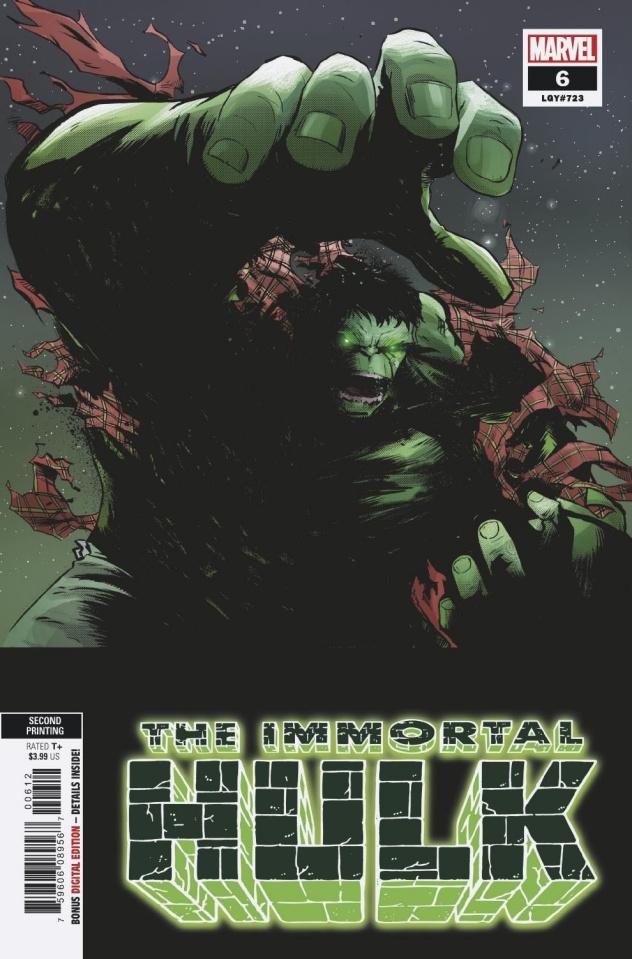 The Immortal Hulk #6 (Garbett 2nd Printing)