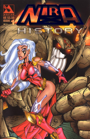 Nira X History #1 (Royal Blue Cover)