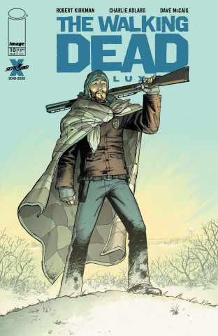 The Walking Dead Deluxe #10 (Moore & McCaig Cover)