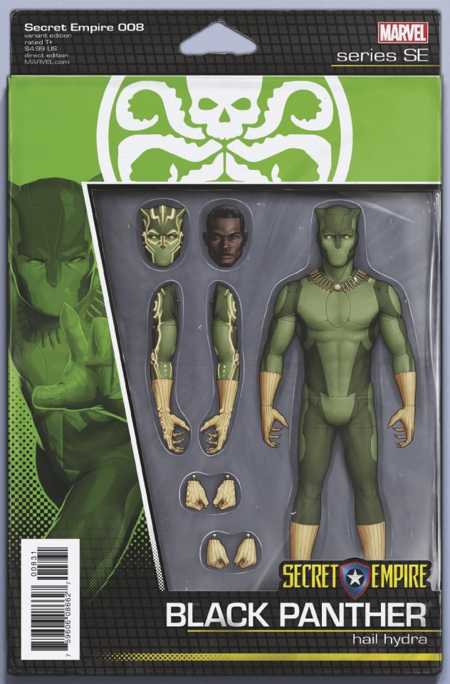 Secret Empire #8 (Christopher Action Figure Cover)