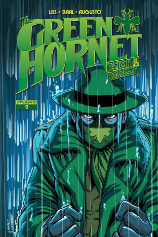 The Green Hornet: Reign of the Demon #2 (Marques Cover)