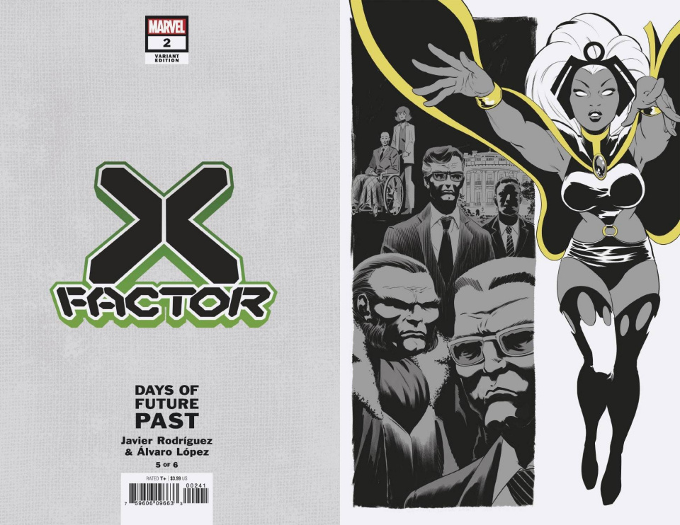 X-Factor #2 (Rodriguez Days of Future Past Cover)