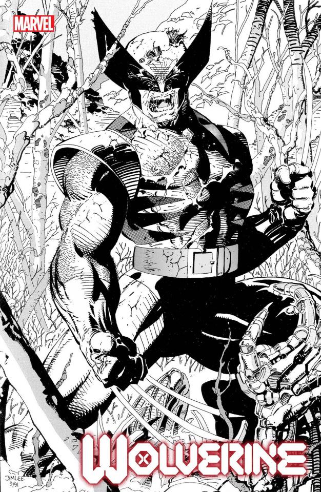 Wolverine #1 (Jim Lee Hidden Gem Sketch Cover)