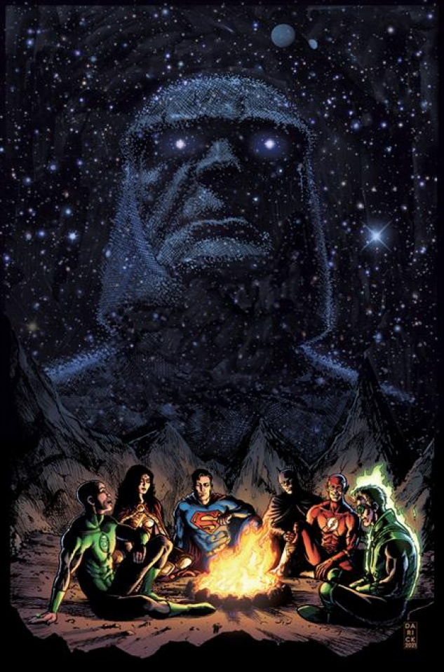 Justice League: Last Ride #5 (Darick Robertson Cover)