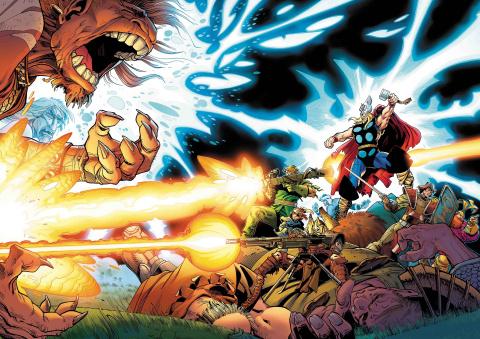 The War of the Realms #1 (Simonson Hidden Gem Cover)