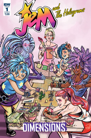 Jem and The Holograms: Dimensions #1 (Ford Cover)