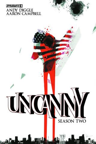 Uncanny, Season Two #4 (Jock Cover)