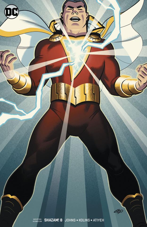 Shazam! #8 (Variant Cover)