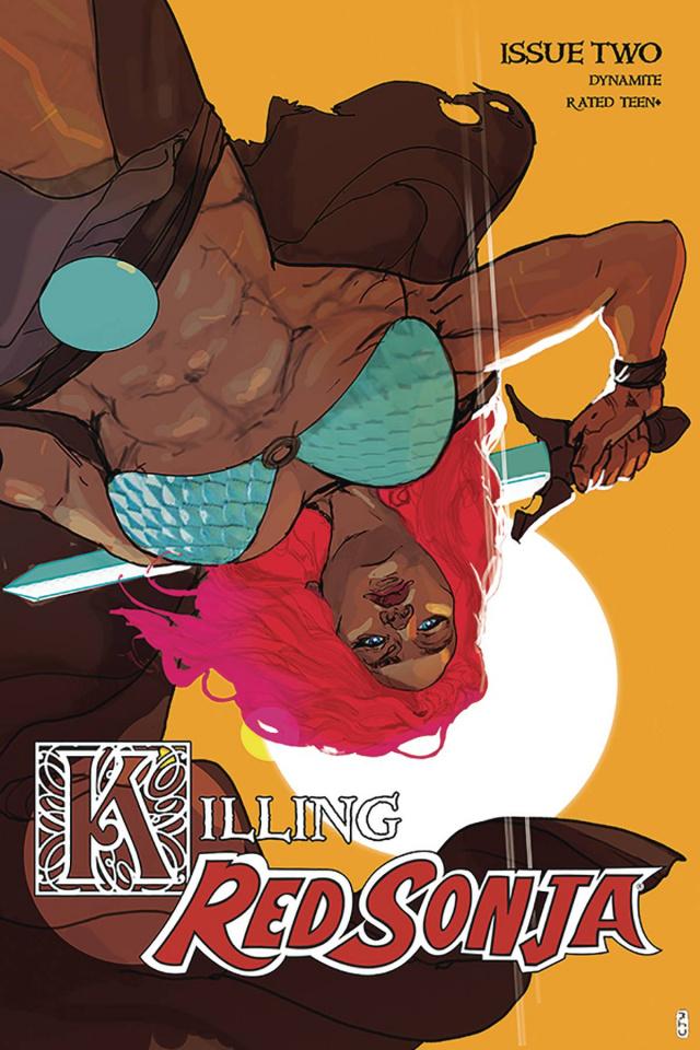 Killing Red Sonja #2 (20 Copy Ward Color Cover)