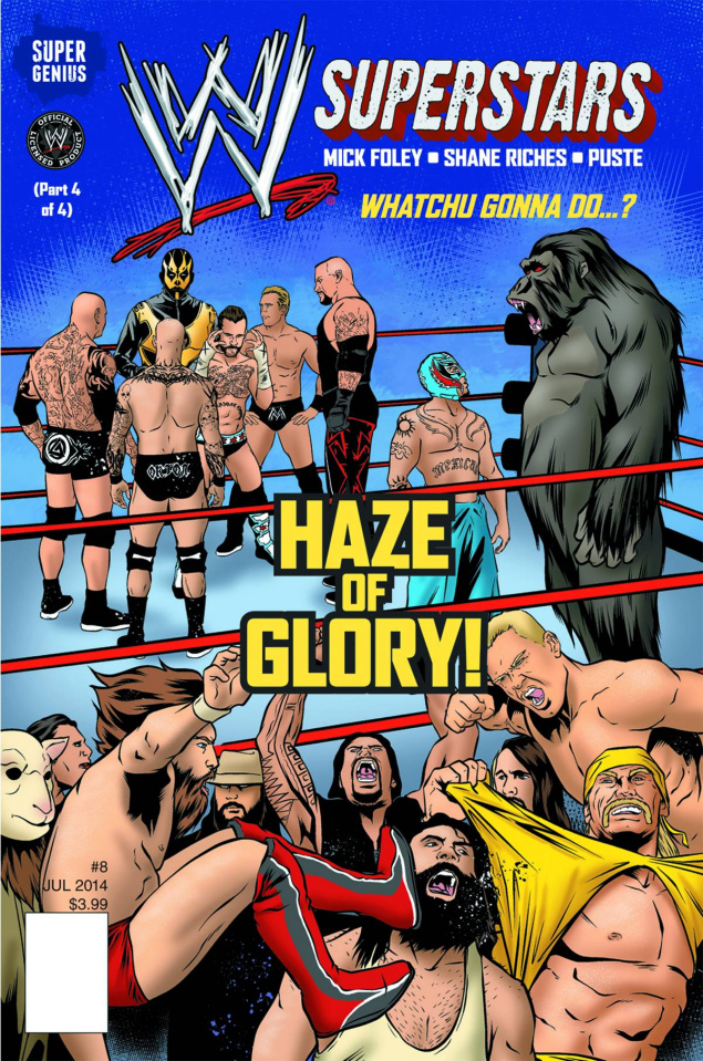 WWE Superstars #8
