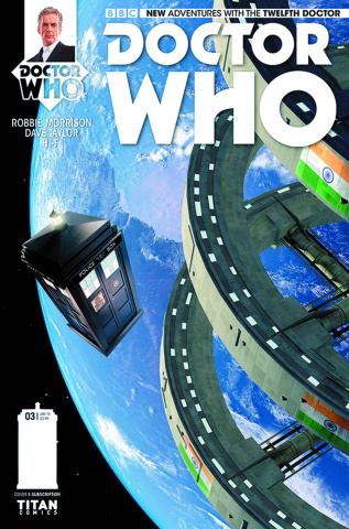 Doctor Who: New Adventures with the Twelfth Doctor #4 (Subscription Cover)