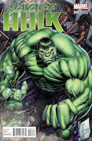 Savage Hulk #4 (Keown Cover)