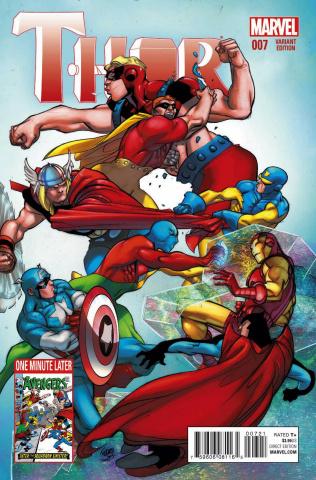 Thor #7 (Avengers Cover)