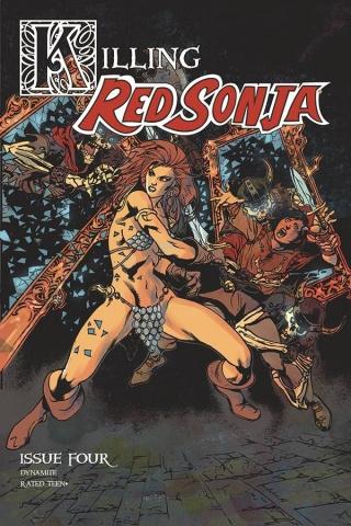 Killing Red Sonja #4 (Castro Bonus Cover)