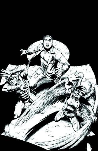 Earth 2 #10 (Black & White Cover)