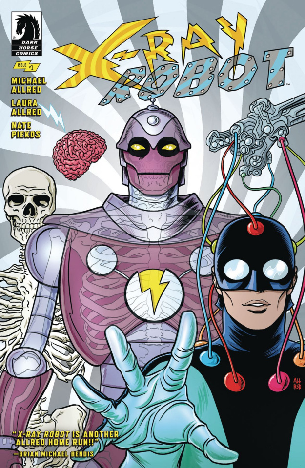 X-Ray Robot #1 (Allred Cover)