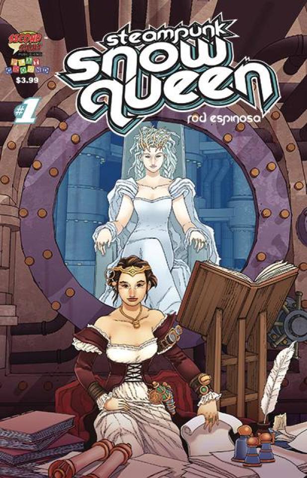 Steampunk Snow Queen #1