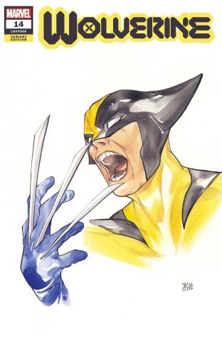 Wolverine #14 (Momoko Marvel Anime Cover)