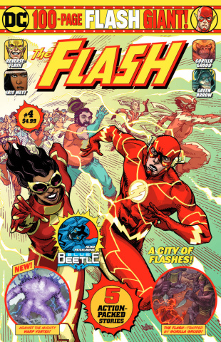 The Flash Giant #4