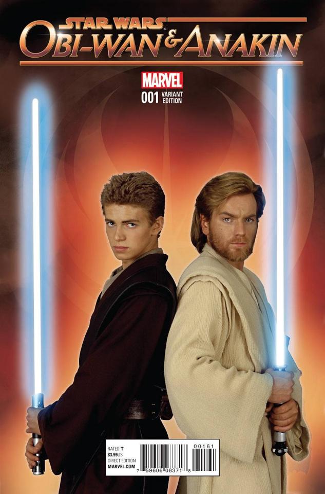 Obi-Wan & Anakin #1 (Movie Cover)