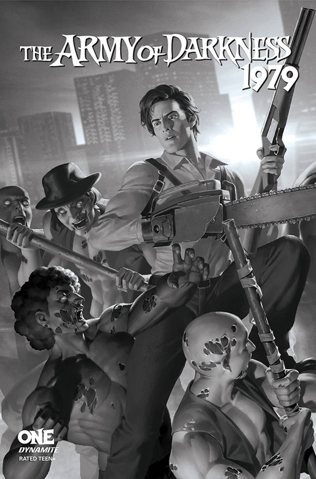 The Army of Darkness: 1979 #1 (20 Copy Yoon B&W Cover)