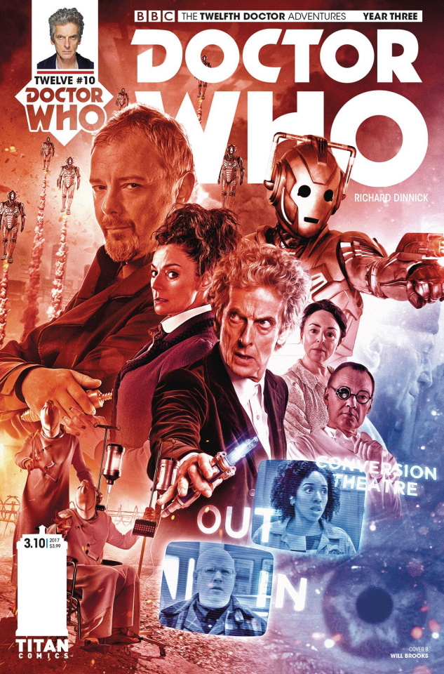 Doctor Who: New Adventures with the Twelfth Doctor, Year Three #10 (Photo Cover)